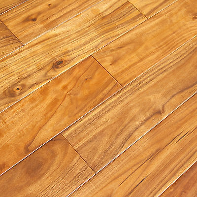 Acacia Walnut Nutmeg Handscraped Engineered Hardwood Wood Flooring Floor Sample