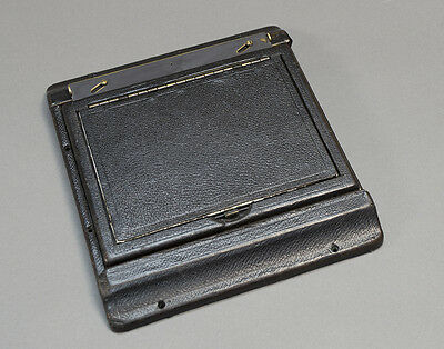 Speed Graphic 4x5 Locking Graflex Back with Ground Glass and Focusing Hood