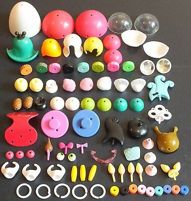 ELLO ANIMAL, PEOPLE AND ACCESSORY PARTS x 86.  MIXED COLOURS.  UK DISPATCH
