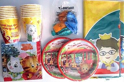 Daniel Tiger's Neighborhood - Birthday Party Supplies Set Pack w/Balloons