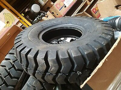 New Sta Forklift Tire 6.90-9 Nhs Industrial Lug Specialty Tires