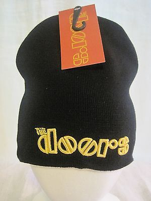 The Doors Beanie Knit Cap Hat Headwear Music Jim Morrison Band Apparel New RO01