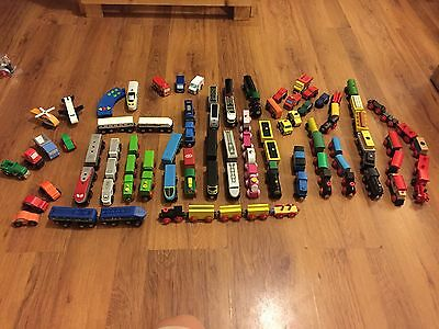 Great Selection of Trains for Brio / Wooden Train Track with Combined Postage