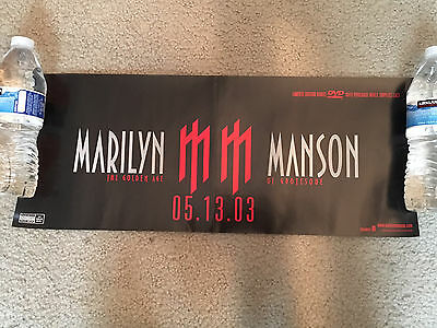 Marilyn Manson-The Golden Age-Record Promo Poster