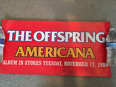 THE OFFSPRING AMERICANA Promo Poster-Promotional