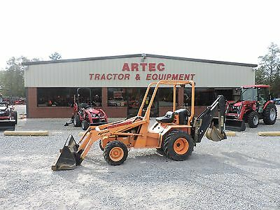 2008 Allmand Tlb220 Loader Backhoe - Deere - Caterpillar - Very Low Hours!!