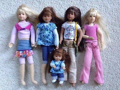 Only Hearts Club Lot of 4 Dolls With Baby VGC