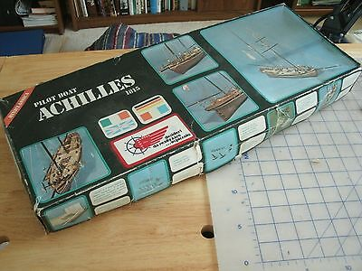 SERGAL Model Kit Pilot Boat ACHILLES 1815 Sloop Unassembled Complete Kit