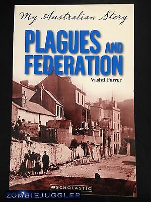 MY AUSTRALIAN STORY Plagues and Federation FREE POST Book