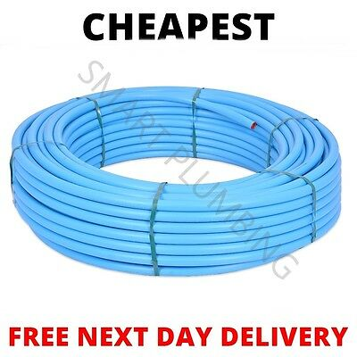 Coil Blue Water Mains MDPE Alkathene Pipe Roll *CHEAPEST ON EBAY* *BRAND NEW*