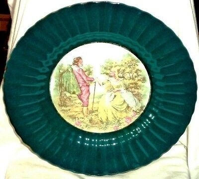 Wade Royal Victoria Cabinet Plate Courting Couple Made in England