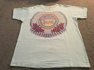 Grateful Dead T Shirt Vintage Tour 1993 XL Ed Donahue December 93 Cali Very RARE