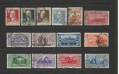 Italy Italia ~ 1863-1933 Small Used Collection