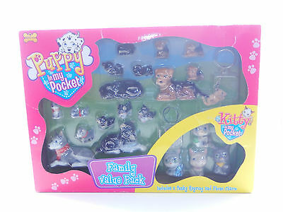 In My Pocket ~*RARE UK EXCLUSIVE Family Value Pack Puppy Kitty Babies NEW MIP!*~