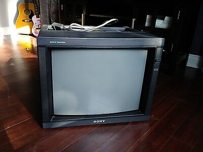 SONY PVM 2030 PROFESSIONAL BROADCAST MONITOR Excellent for retro gaming