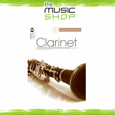 AMEB Clarinet Series 3 Preliminary to Grade 2 Music Book