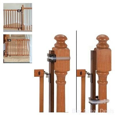 Gate Mounting Kit Banister Universal Baby Kids Safety Protection Stairs Home New