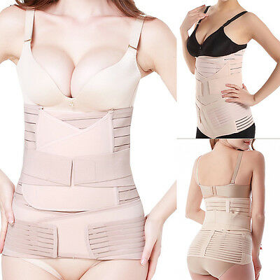 3 in 1 Postpartum Support Recovery Belly/waist/pelvis Belt Shapewear Slimming VC