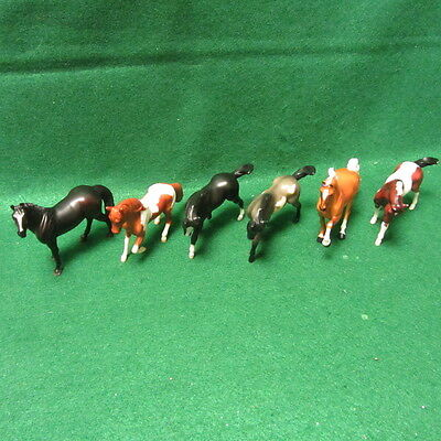 "6 Breyer Reeves Horses 4""x 3"""