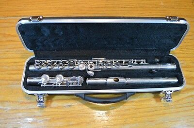 Pearl Pf-501 Open Hole Flute Offset G *overhauled*new Pads*new Case**ready2Play*