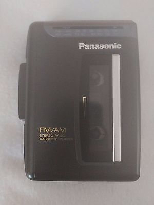 Panasonic RQ-V52 Stereo Cassette Player Walkman Works