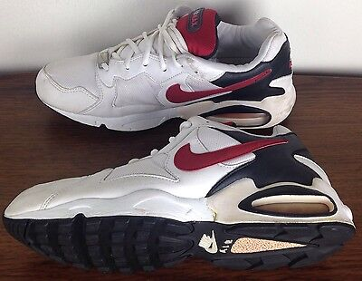 Vintage 90's Men's NIKE Air Max TRIAX Series Size 12 Red