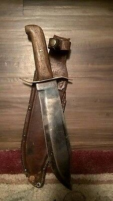 1950s or early 1960s bullet bowie knife for sale.