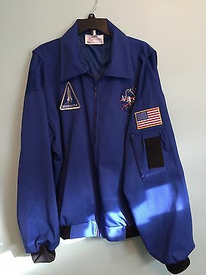 Nasa Aviator Jacket (New)  Made In The Usa  Xxl