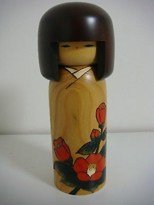 free shipping sosaku kokeshi doll 18.5 cm  7 1/4 inches by Usaburo