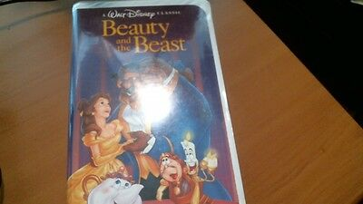 Rare Must Have! Walt Disney Black Diamond Edition VHS Tape Beauty and the Beast!