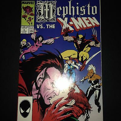 Mephisto vs. #3 X-men (1987) VF