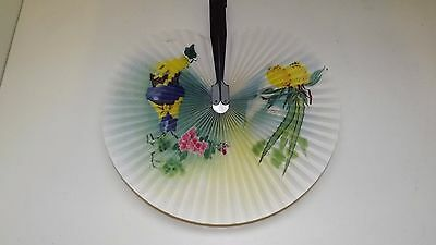 Collectable Vintage Foldable Paper Chinese Patten Hand Fan