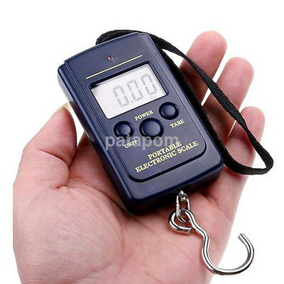 Portable 40KG/10G Electronic Pocket Digital Scales Weight Fishing Travel Luggage