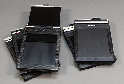 5 Plastic 4x5 Fidelity Deluxe & Fidelity Elite Large Format Sheet Film Holders