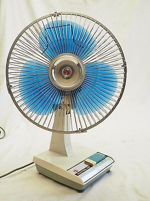 Vintage Hoover Electric Fan Model AE1002 Working Well Retro