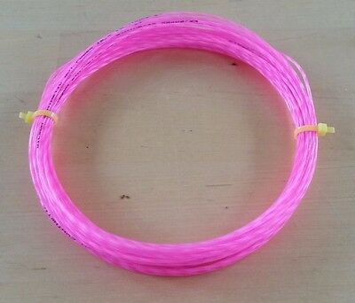 Tennis string - Wilson Synthetic Gut Power 1.30mm / 16L - PINK