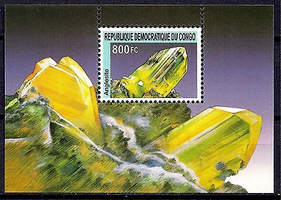 Congo 2002 Minerals Geology Anglesite Crystals Rocks Mining Gems Chemistry MNH