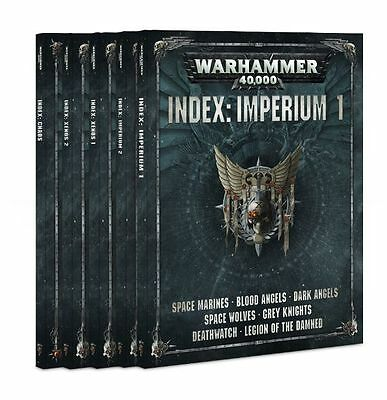 Warhammer 40K Dark Imperium Index Book Collection