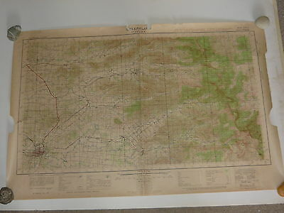 MUCKANINNIE PLAINS Australian Army 1999 NT Topographic Land Map 1:50,000