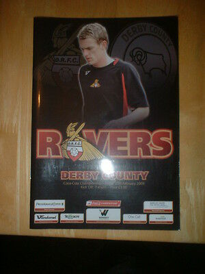 2008/9 Doncaster Rovers V Derby County