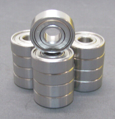 8-16er Set Kugellager Set DIN608 ABEC 9 Inline Skates Skateboard Bearings Rollen
