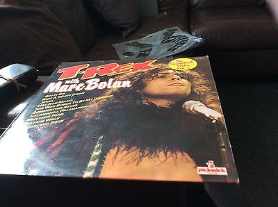t-rex with marc bolan lp