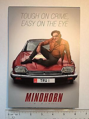 Mindhorn (2017) Movie Promotional Tabletop Standee, Postcards & Eye Patch!