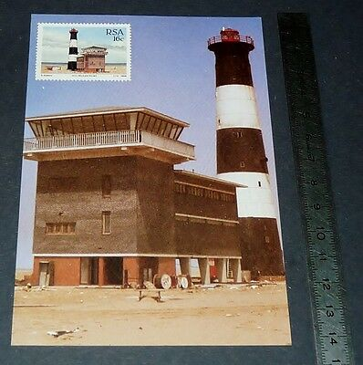 CPA 1er JOUR PHILATELIE 1988 PHARE PELICAN POINT NAMIBIE NAMIBIA LIGHTHOUSE