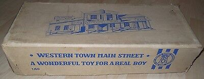 DDR Oehme + Söhne Western Town Main Street OVP 1/60 47266 selten timpo elastolin