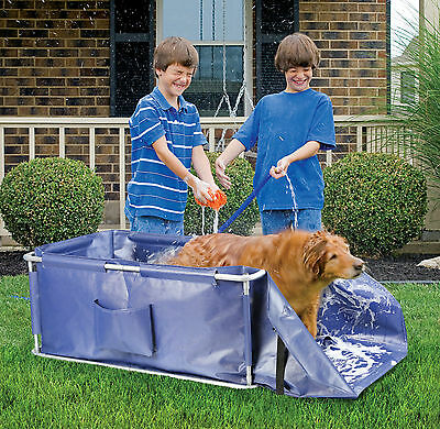Large Portable Dog Or Cat Walk In Folding Pet Wash Bath.bargain Price.last Three