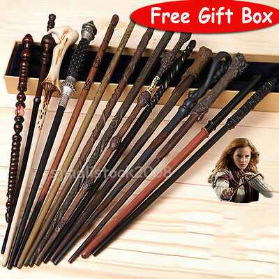 Harry Potter Hermione Granger Dumbledore Ron Sirius Voldemort Magic Wand Gift UK