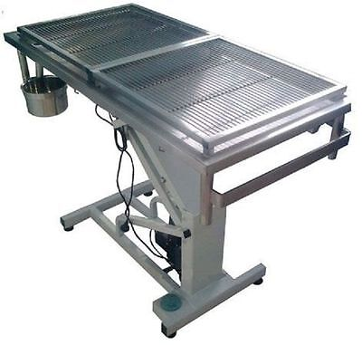 New Veterinary Surgical Operating Table DH04 Electric Removable Wire Mesh Top