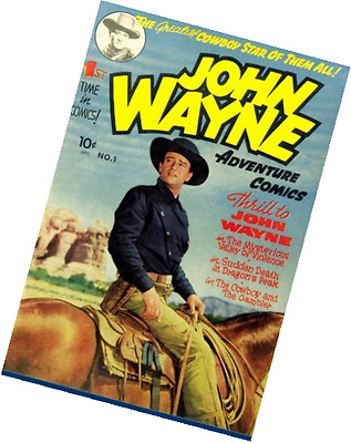 John Wayne Adventure Comics #1: Special Edition - Original Golden Age Size