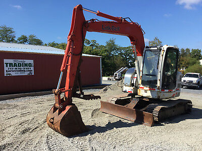 2007 Link Belt 75 Spin Ace Midi Excavator w/ Cab & Thumb!